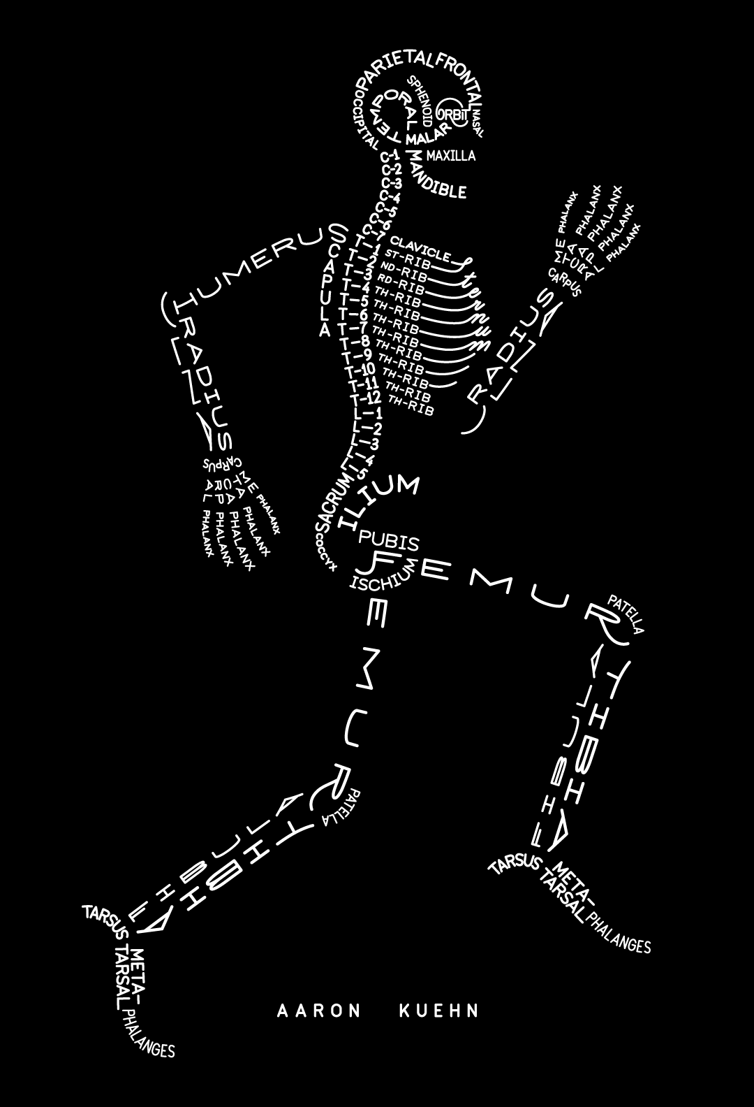 Skeleton Typogram